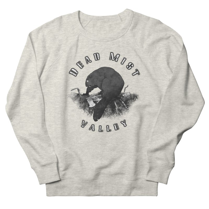 Oregon - Dead Mist Valley Women's French Terry Sweatshirt by Dystopia Rising's Artist Shop