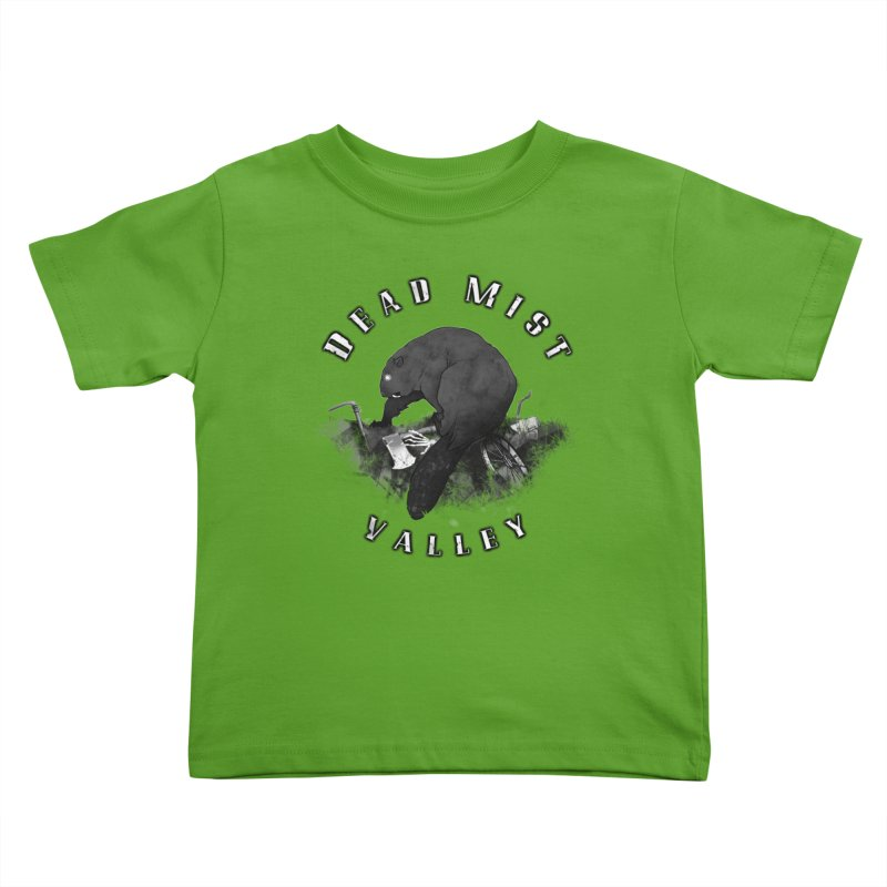 Oregon - Dead Mist Valley Kids Toddler T-Shirt by Dystopia Rising's Artist Shop
