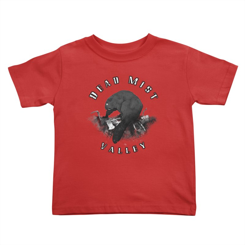 Oregon - Dead Mist Valley Kids Toddler T-Shirt by DystopiaRising's Artist Shop