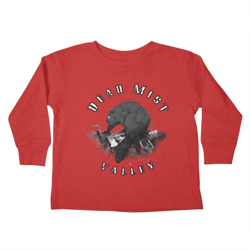 Oregon - Dead Mist Valley Kids Toddler Longsleeve T-Shirt by Dystopia Rising's Artist Shop
