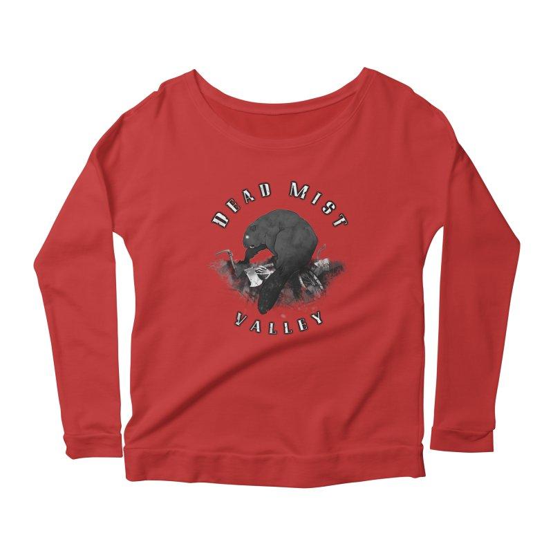 Oregon - Dead Mist Valley Women's Scoop Neck Longsleeve T-Shirt by DystopiaRising's Artist Shop