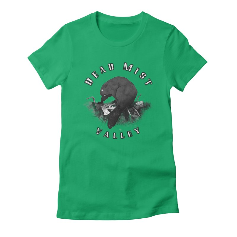 Oregon - Dead Mist Valley Women's Fitted T-Shirt by Dystopia Rising's Artist Shop