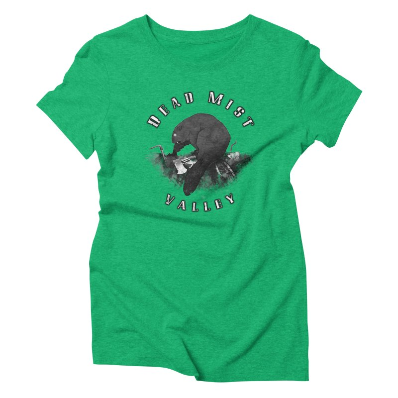 Oregon - Dead Mist Valley Women's Triblend T-Shirt by Dystopia Rising's Artist Shop