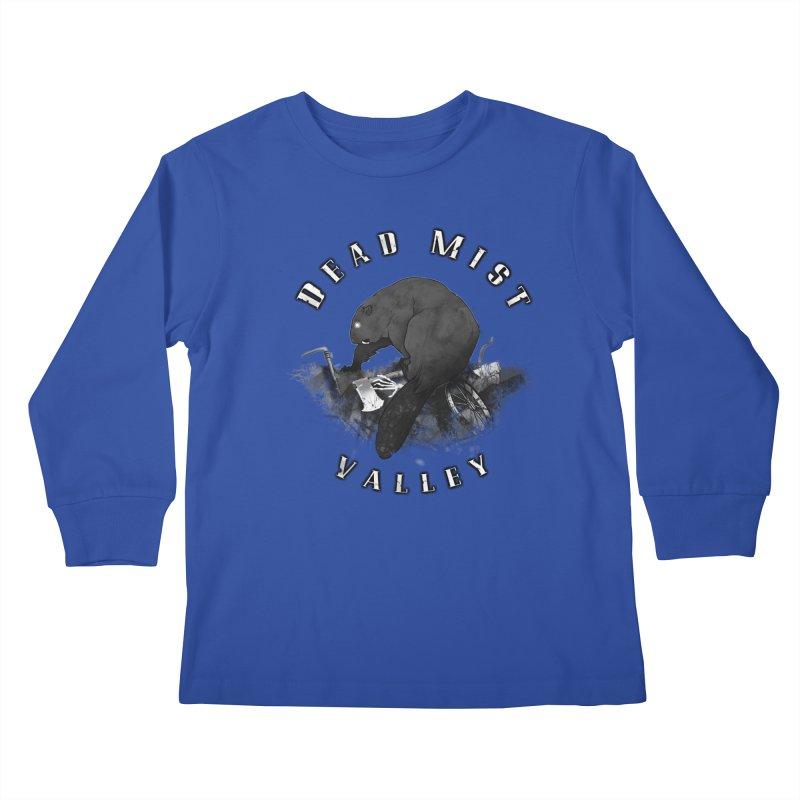 Oregon - Dead Mist Valley Kids Longsleeve T-Shirt by DystopiaRising's Artist Shop
