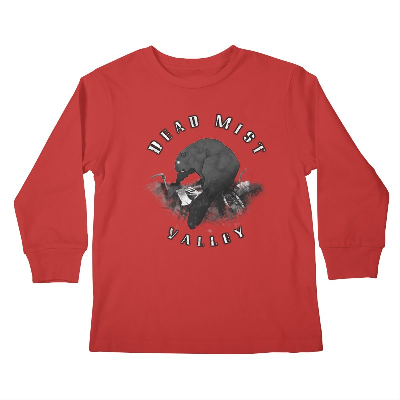 Oregon - Dead Mist Valley Kids Longsleeve T-Shirt by Dystopia Rising's Artist Shop