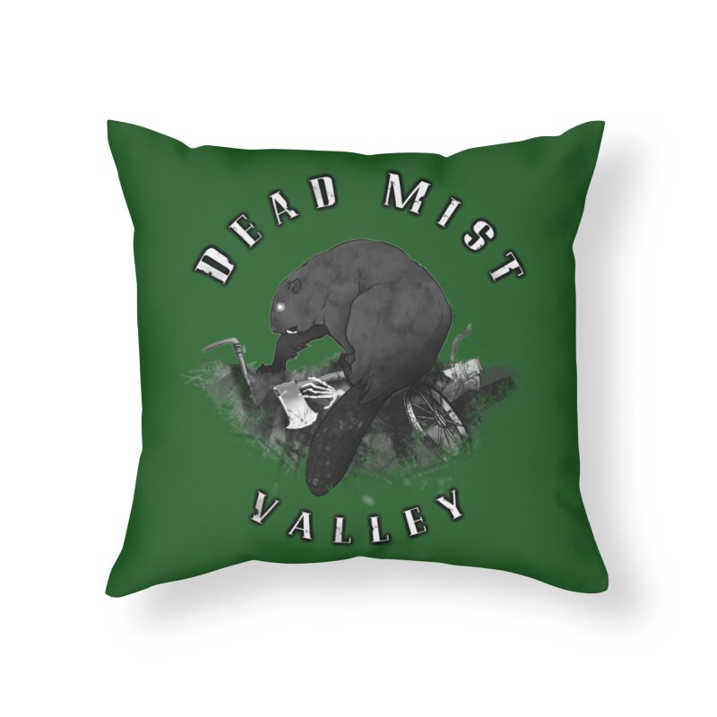 Oregon - Dead Mist Valley Home Throw Pillow by Dystopia Rising's Artist Shop