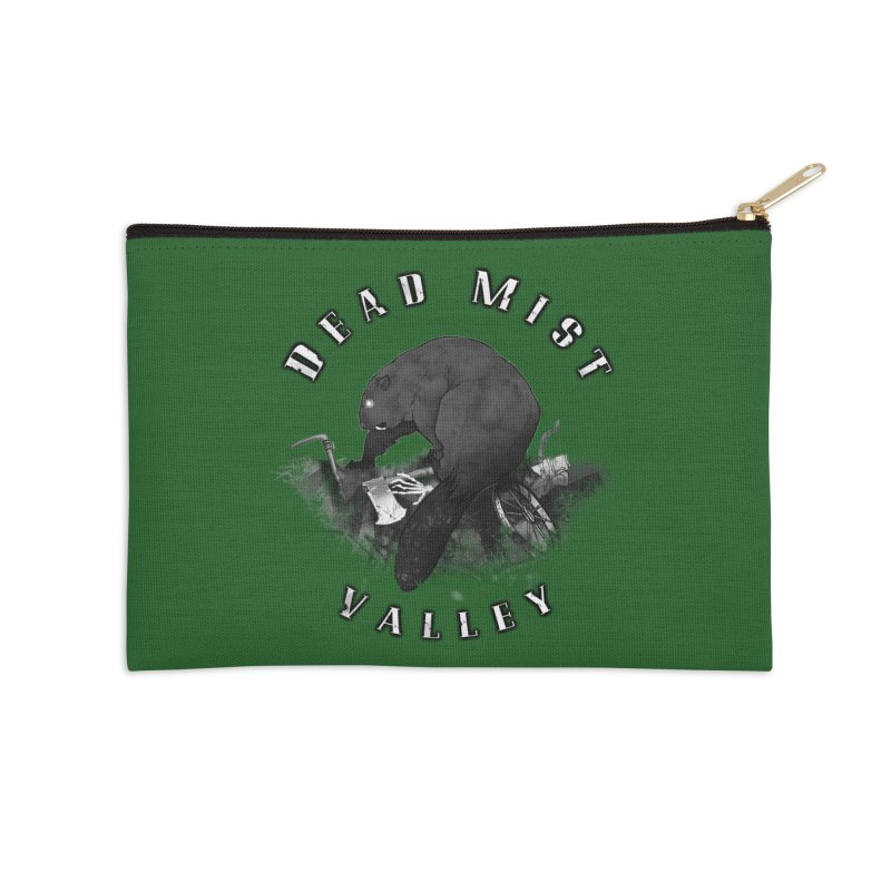 Oregon - Dead Mist Valley Accessories Zip Pouch by Dystopia Rising's Artist Shop