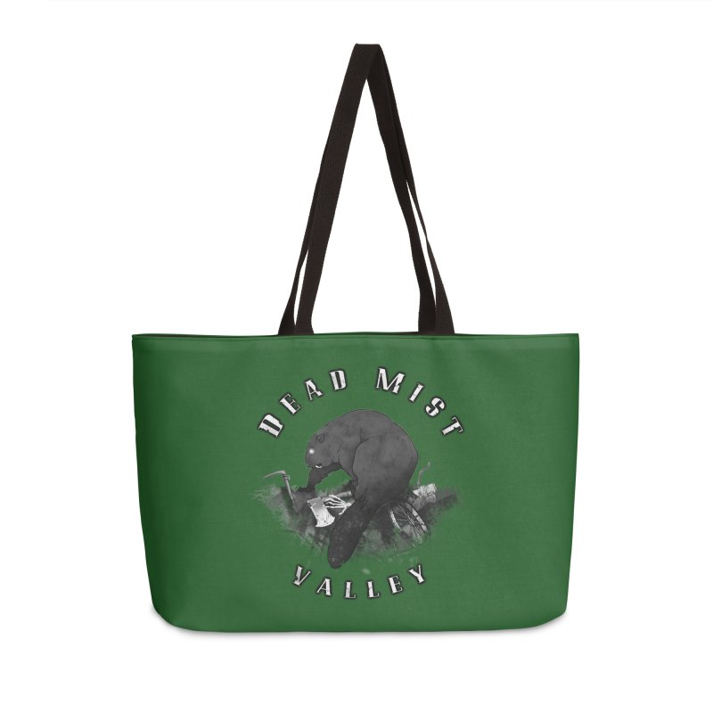 Oregon - Dead Mist Valley Accessories Weekender Bag Bag by Dystopia Rising's Artist Shop