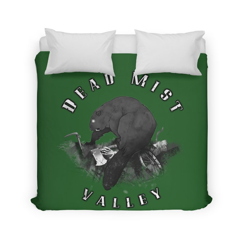 Oregon - Dead Mist Valley Home Duvet by DystopiaRising's Artist Shop