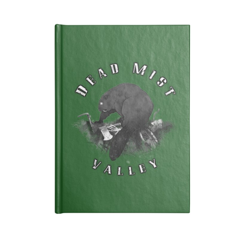 Oregon - Dead Mist Valley Accessories Blank Journal Notebook by Dystopia Rising's Artist Shop