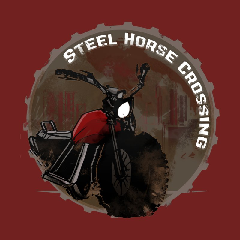 Wisconsin - Steel Horse Crossing Men's T-Shirt by Dystopia Rising's Artist Shop