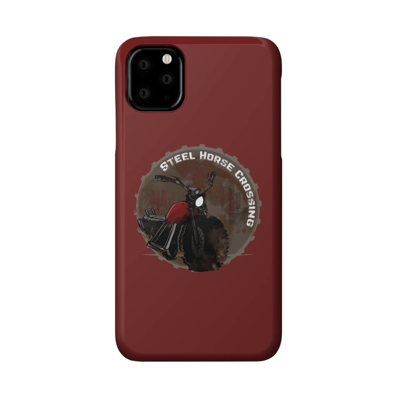 Wisconsin - Steel Horse Crossing Accessories Phone Case by Dystopia Rising's Artist Shop