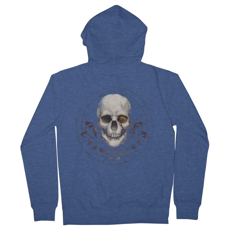 Kentucky - Sanctuary Men's French Terry Zip-Up Hoody by Dystopia Rising's Artist Shop