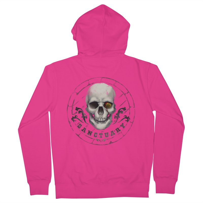 Kentucky - Sanctuary Men's French Terry Zip-Up Hoody by DystopiaRising's Artist Shop