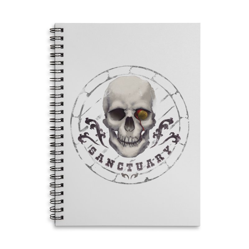 Kentucky - Sanctuary Accessories Lined Spiral Notebook by Dystopia Rising's Artist Shop