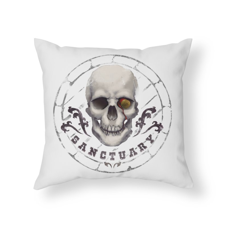 Kentucky - Sanctuary Home Throw Pillow by Dystopia Rising's Artist Shop