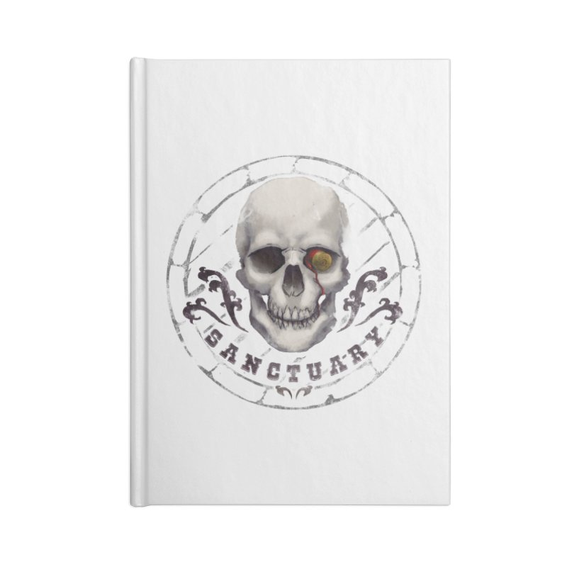 Kentucky - Sanctuary Accessories Blank Journal Notebook by Dystopia Rising's Artist Shop