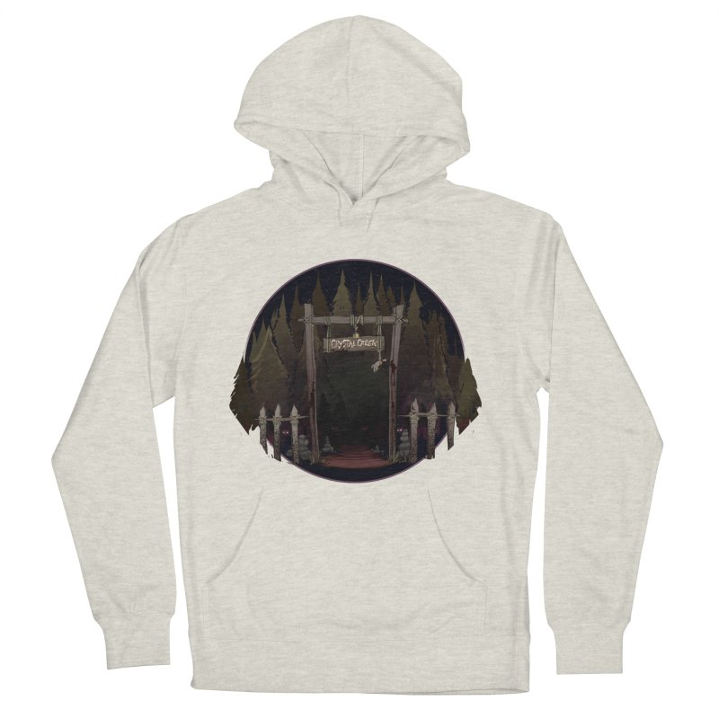 Arkansas - Crystal Creek Women's French Terry Pullover Hoody by Dystopia Rising's Artist Shop