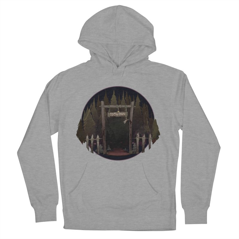Arkansas - Crystal Creek Men's French Terry Pullover Hoody by Dystopia Rising's Artist Shop