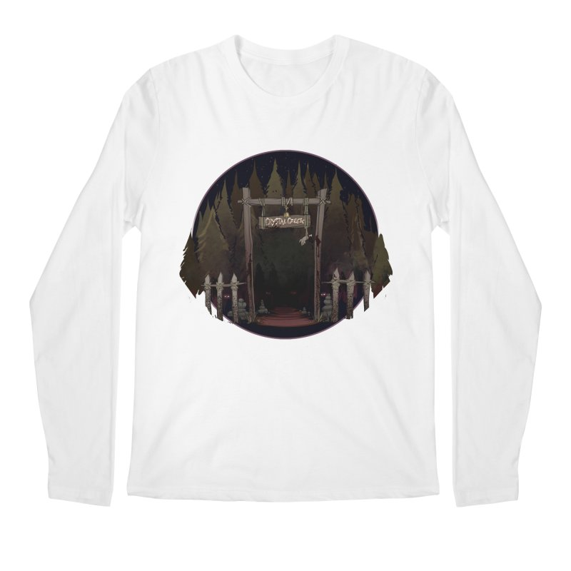 Arkansas - Crystal Creek Men's Regular Longsleeve T-Shirt by Dystopia Rising's Artist Shop