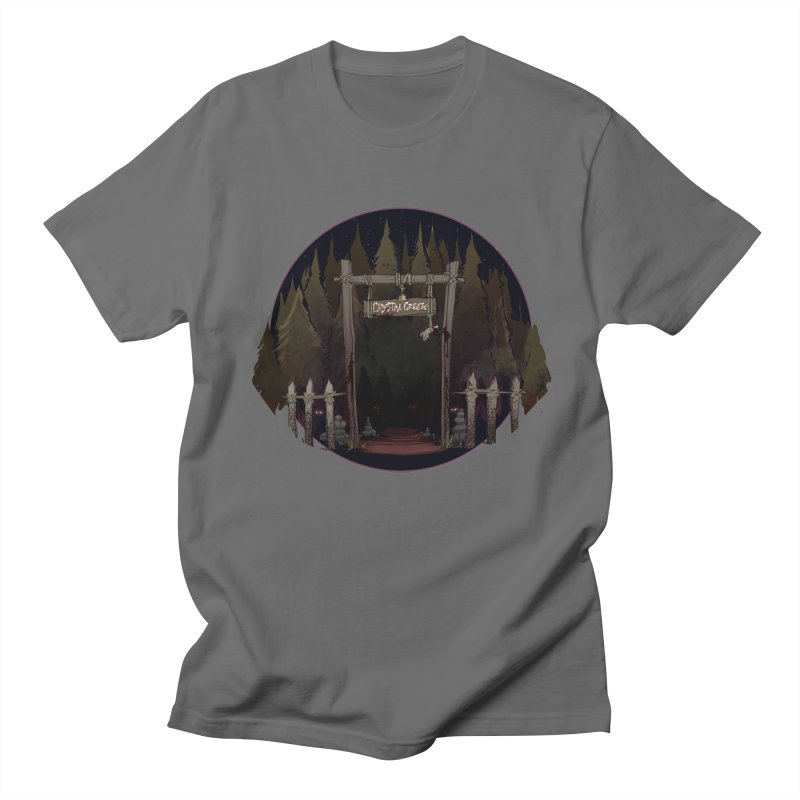 Arkansas - Crystal Creek Men's T-Shirt by Dystopia Rising's Artist Shop