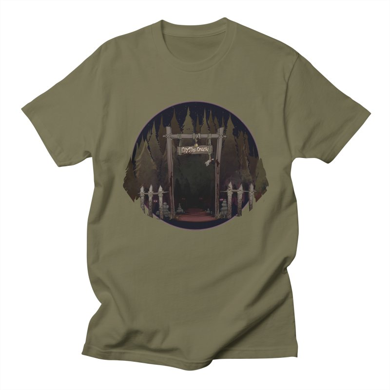 Arkansas - Crystal Creek Women's Regular Unisex T-Shirt by Dystopia Rising's Artist Shop