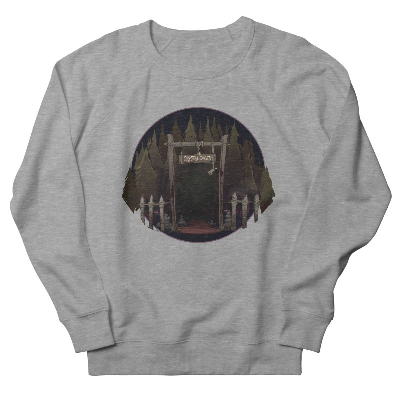 Arkansas - Crystal Creek Women's French Terry Sweatshirt by DystopiaRising's Artist Shop