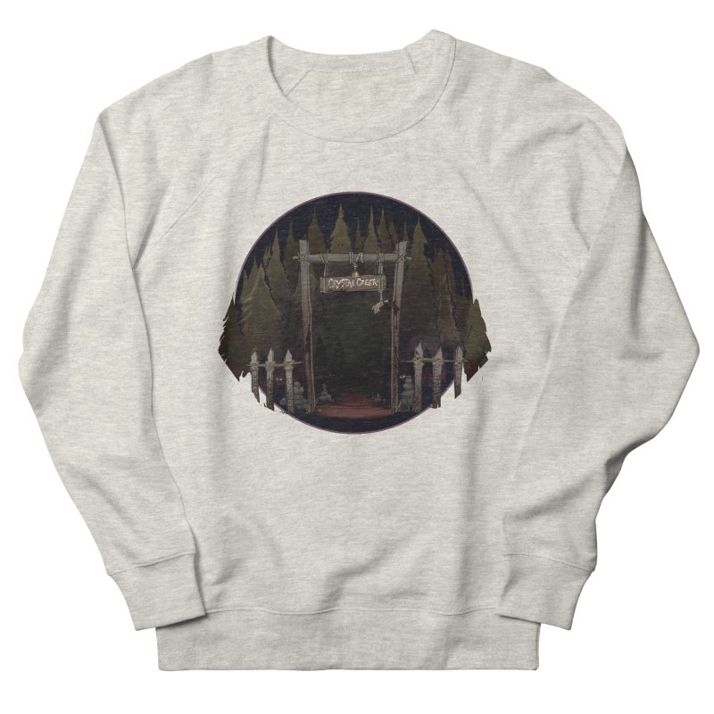Arkansas - Crystal Creek Women's French Terry Sweatshirt by Dystopia Rising's Artist Shop