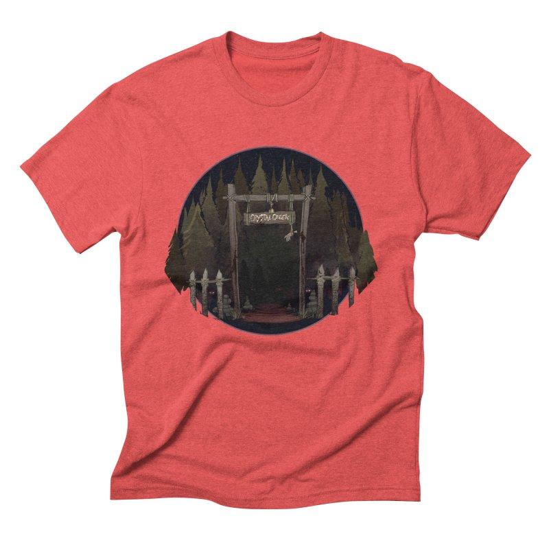 Arkansas - Crystal Creek Men's Triblend T-Shirt by Dystopia Rising's Artist Shop