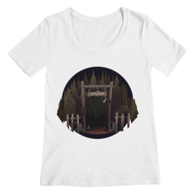 Arkansas - Crystal Creek Women's Regular Scoop Neck by Dystopia Rising's Artist Shop