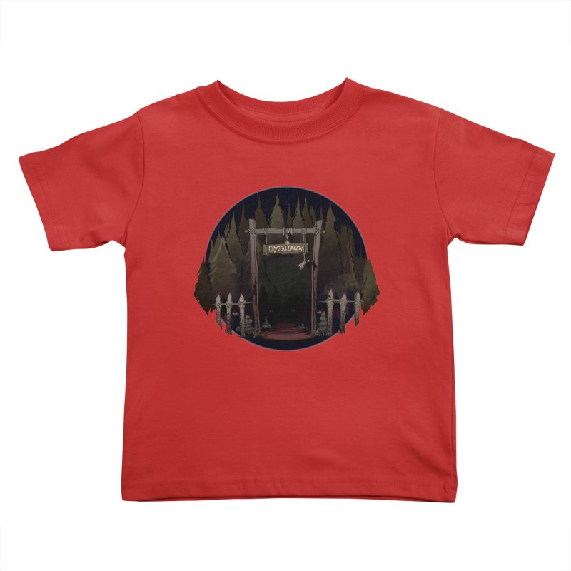 Arkansas - Crystal Creek Kids Toddler T-Shirt by Dystopia Rising's Artist Shop