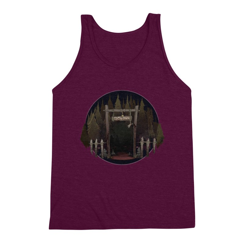 Arkansas - Crystal Creek Men's Triblend Tank by Dystopia Rising's Artist Shop