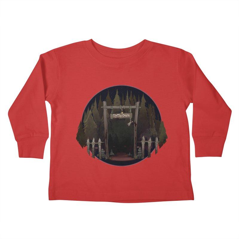 Arkansas - Crystal Creek Kids Toddler Longsleeve T-Shirt by Dystopia Rising's Artist Shop