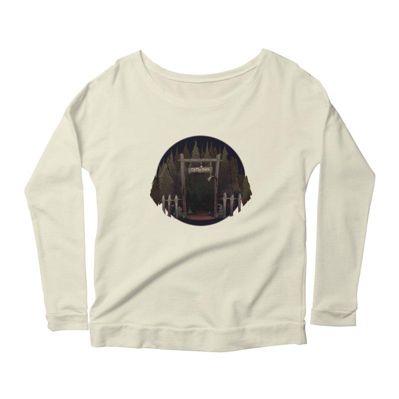 Arkansas - Crystal Creek Women's Scoop Neck Longsleeve T-Shirt by Dystopia Rising's Artist Shop