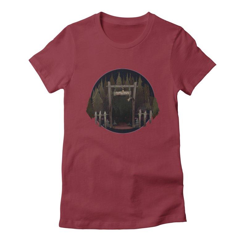 Arkansas - Crystal Creek Women's T-Shirt by Dystopia Rising's Artist Shop