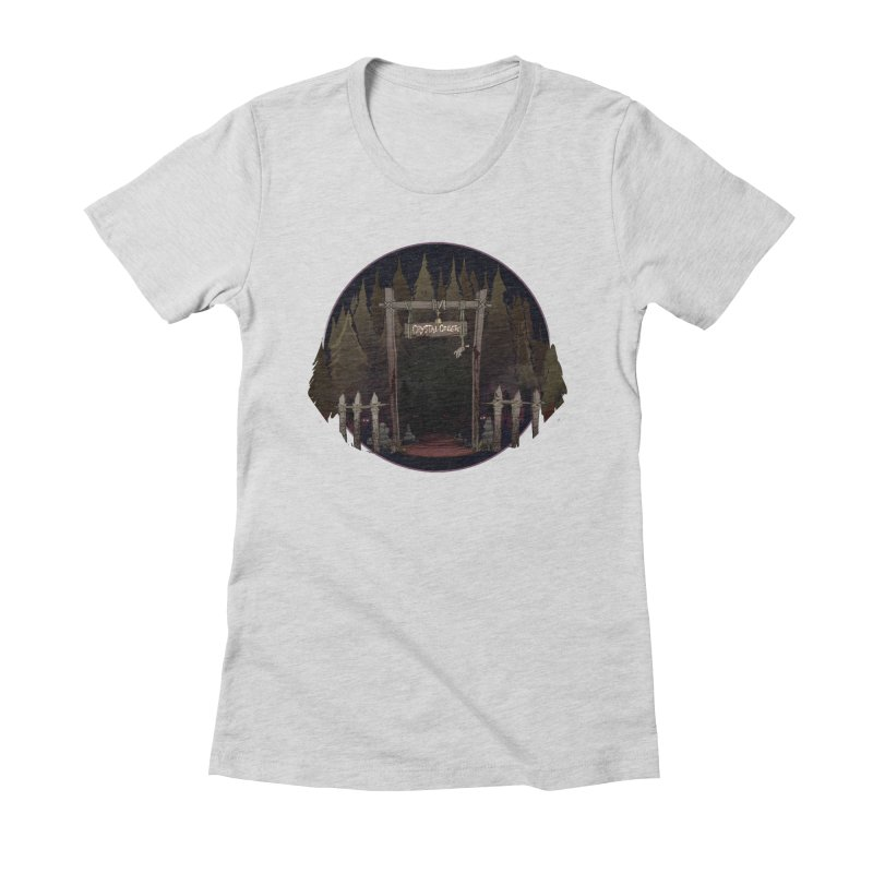 Arkansas - Crystal Creek Women's Fitted T-Shirt by Dystopia Rising's Artist Shop