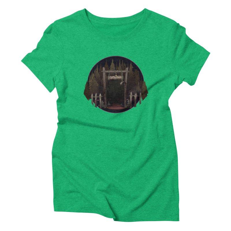 Arkansas - Crystal Creek Women's Triblend T-Shirt by Dystopia Rising's Artist Shop