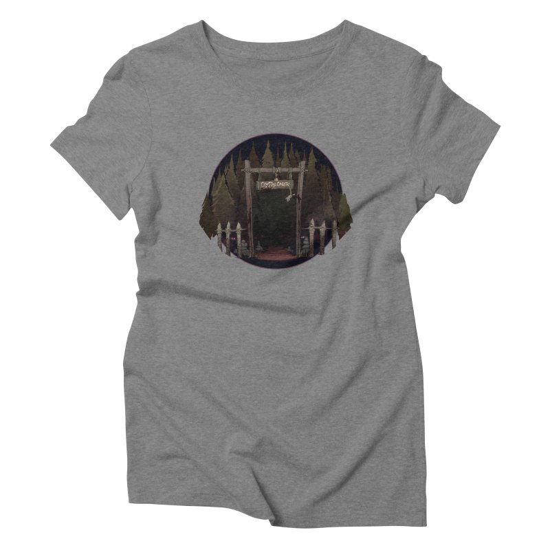Arkansas - Crystal Creek Women's Triblend T-Shirt by Dystopia Rising's Artist Shop