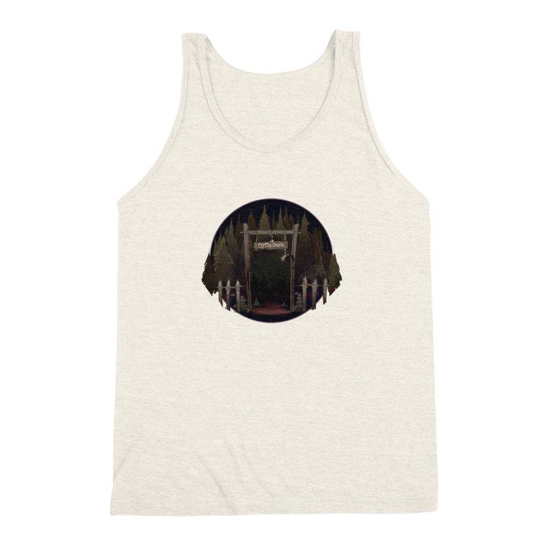 Arkansas - Crystal Creek Men's Triblend Tank by Dystopia Rising's Artist Shop