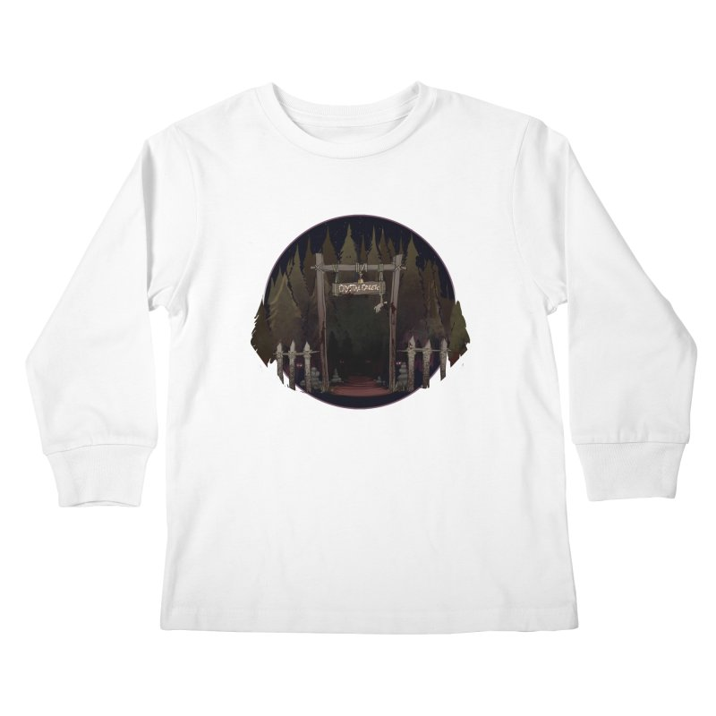 Arkansas - Crystal Creek Kids Longsleeve T-Shirt by Dystopia Rising's Artist Shop
