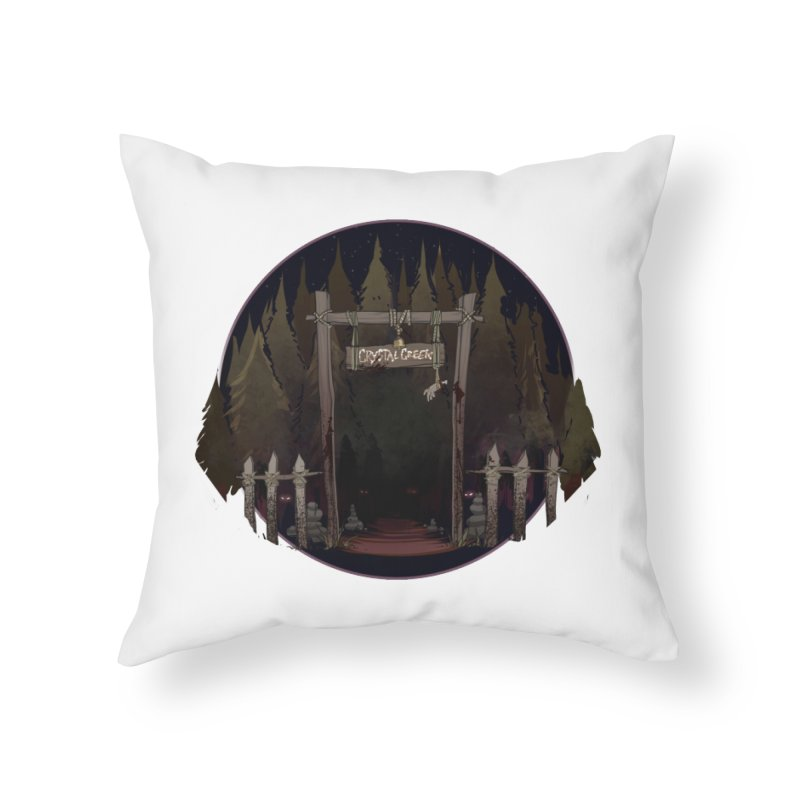 Arkansas - Crystal Creek Home Throw Pillow by Dystopia Rising's Artist Shop