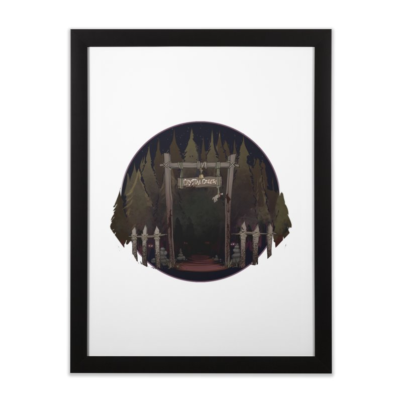Arkansas - Crystal Creek Home Framed Fine Art Print by Dystopia Rising's Artist Shop