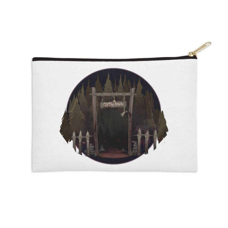 Arkansas - Crystal Creek Accessories Zip Pouch by Dystopia Rising's Artist Shop