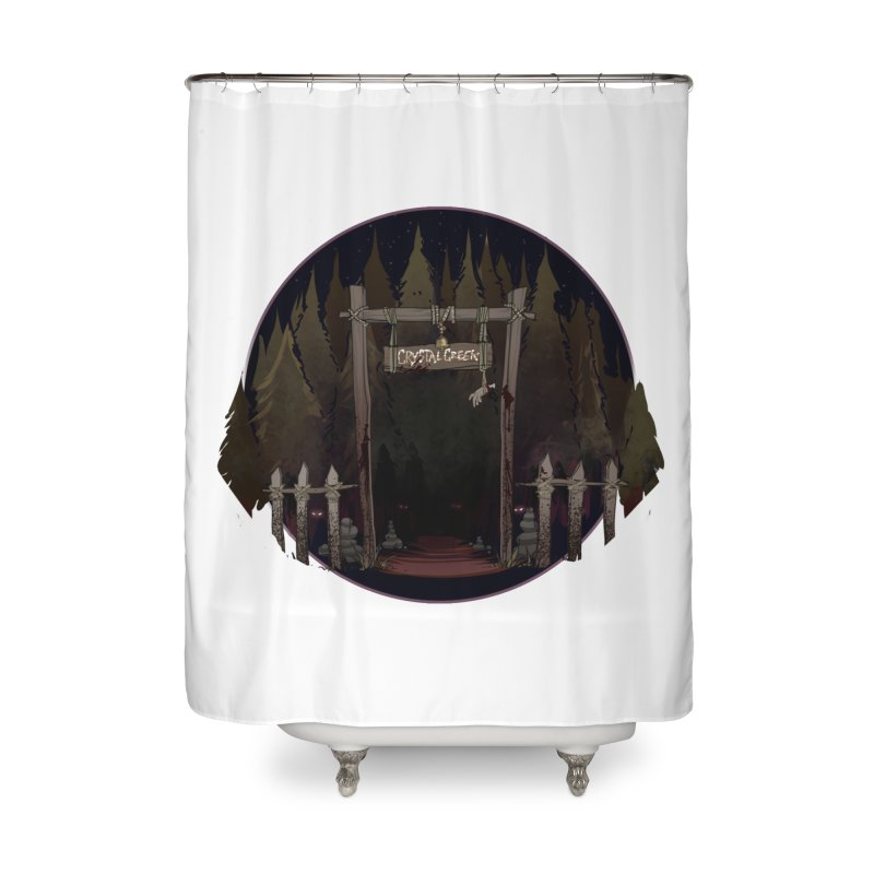 Arkansas - Crystal Creek Home Shower Curtain by Dystopia Rising's Artist Shop