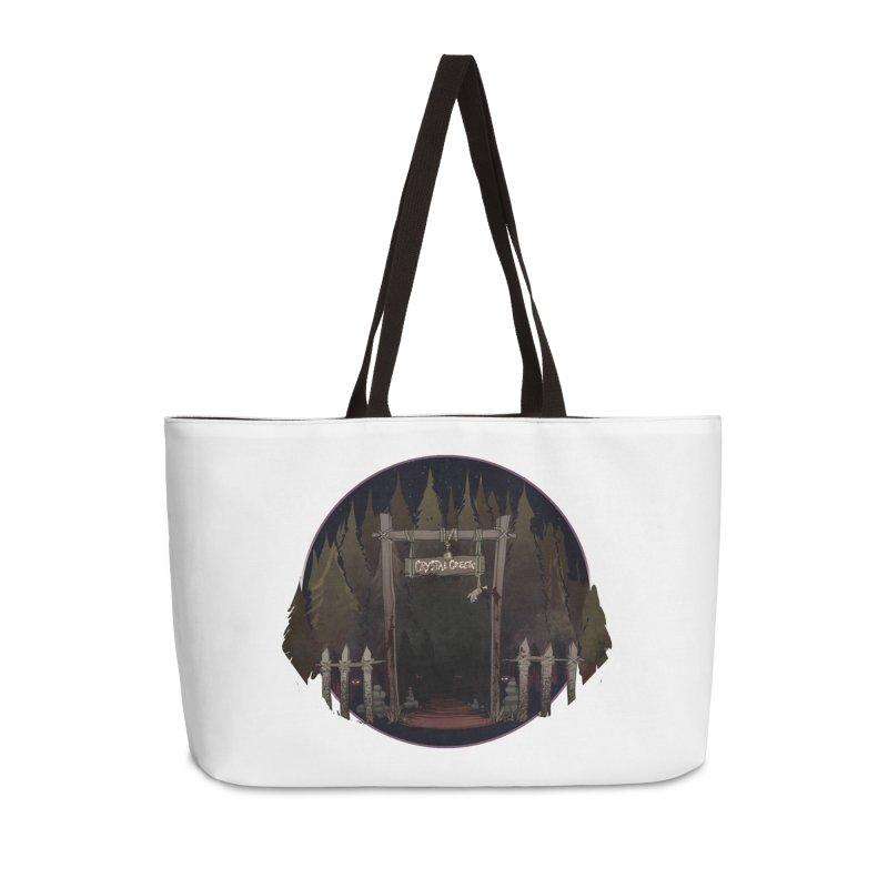 Arkansas - Crystal Creek Accessories Weekender Bag Bag by Dystopia Rising's Artist Shop