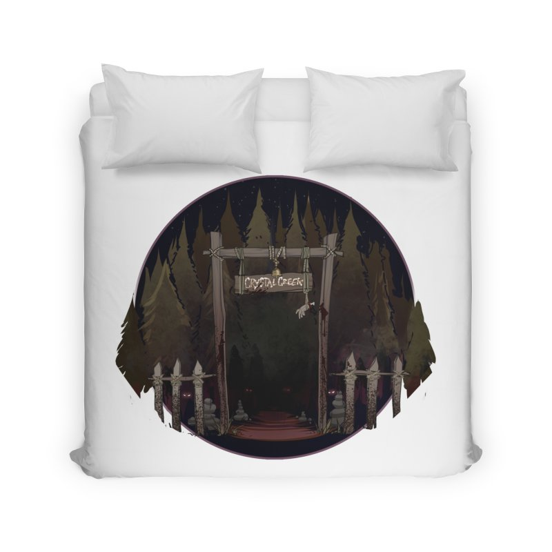 Arkansas - Crystal Creek Home Duvet by DystopiaRising's Artist Shop