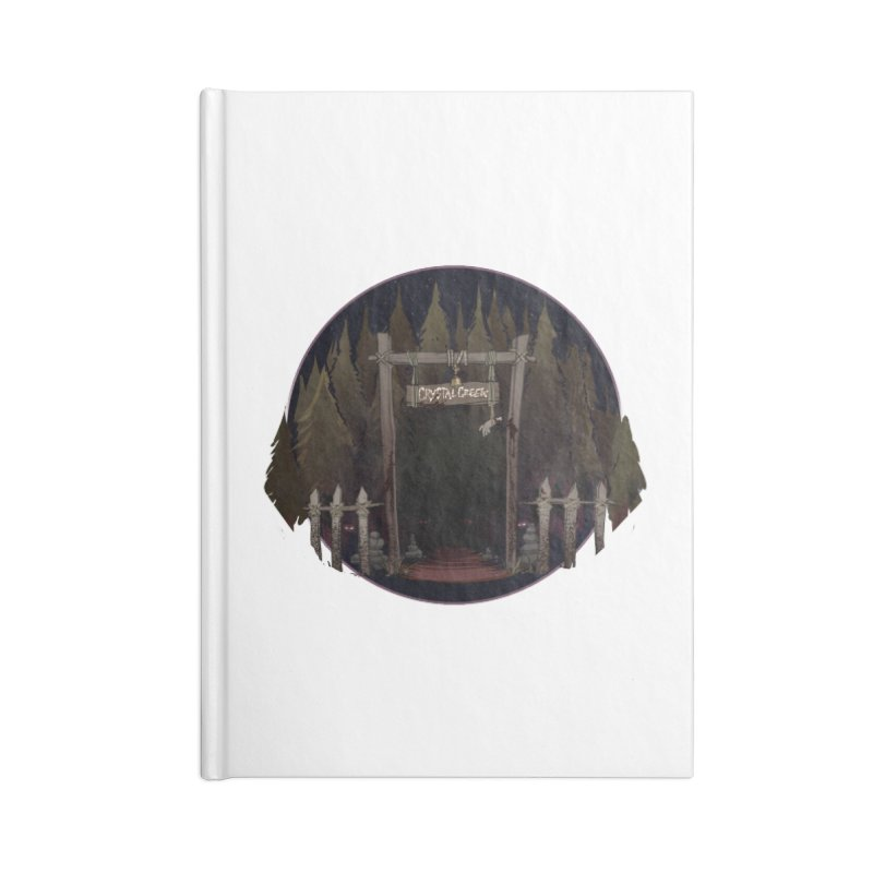 Arkansas - Crystal Creek Accessories Lined Journal Notebook by Dystopia Rising's Artist Shop