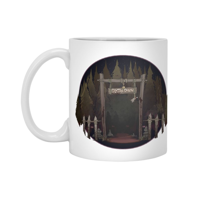 Arkansas - Crystal Creek Accessories Standard Mug by Dystopia Rising's Artist Shop