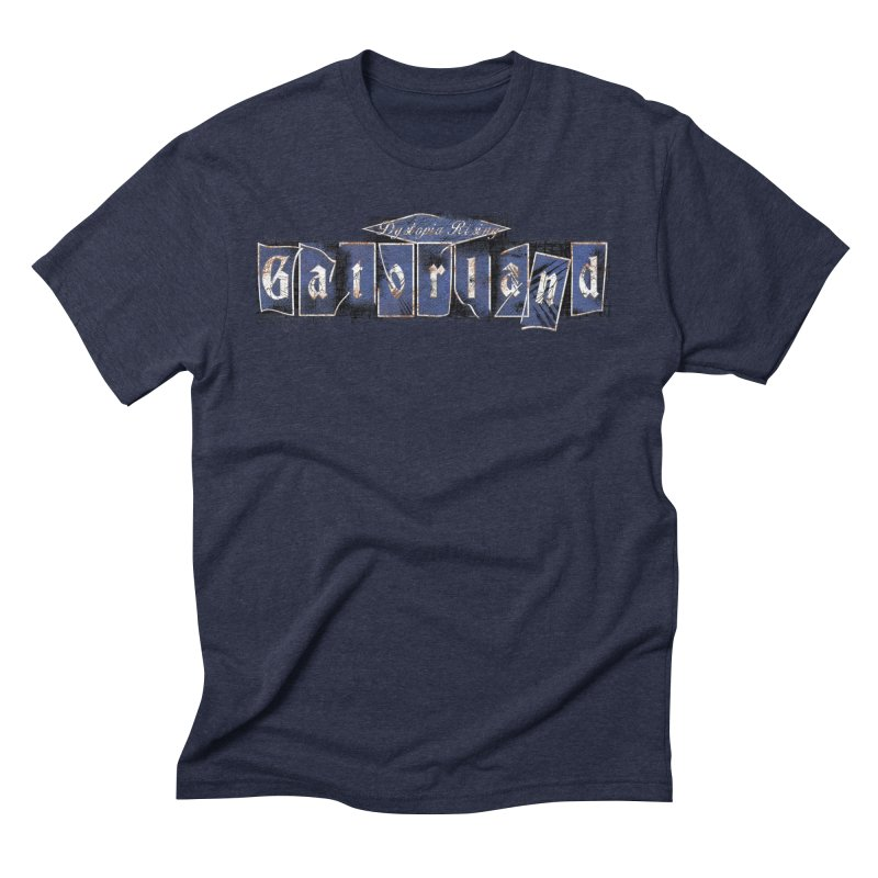 Florida - Gatorland Men's Triblend T-Shirt by DystopiaRising's Artist Shop