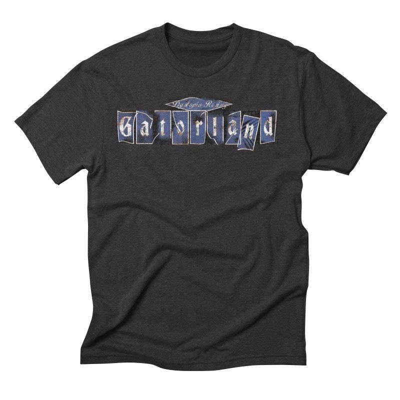 Florida - Gatorland Men's Triblend T-Shirt by Dystopia Rising's Artist Shop